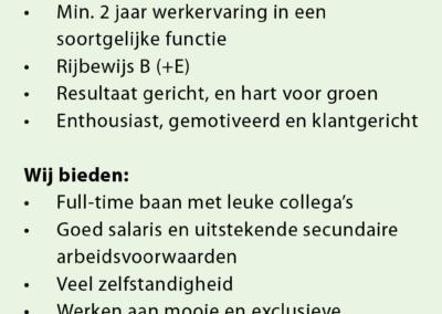 Krijn de Heer adv RD Voorman Hovenier 16e pag 20190719